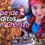 Flor de Cocina  - Sopa de Coditos | S01 E055 | #receta #completa #chorizo