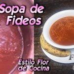 Flor de Cocina - Sopa de fideos   S01 E047   Receta Completa