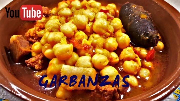 GARBANZAS  [ Recetas de cocina fáciles y ricas ]