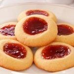 Galletas de Mantequilla con Mermelada hechas con Solo 4 Ingredientes