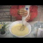 Haciendo un bizcocho de manzana para niños muy rápida y fácil y esta deliciosa 😋  Manallove❤️  Mi receta de cocina