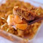 Jugoso Crumble de Manzana y Avena... Super fácil,  lo harás todos los días!!  | Auxy  Mi receta de cocina