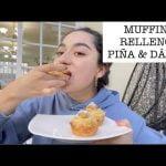 MUFFINS RELLENOS DE PIÑA & DÁTIL  Mi receta de cocina