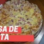 Masa básica de TARTA sin gluten  Receta fácil y económica  Mi receta de cocina