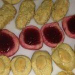 Mazapan de frutos del bosque sin gluten / Panellets Mi receta de cocina