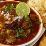 Menudo rojo estilo chihuahua 😋delicioso y exquisito | receta fácil      La cocina de Patty Celis
