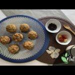 Muffins de fruta y cacao, sin endulzantes y sin gluten Mi receta de cocina