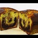 PASTEL MARMOL - BIZCOCHO MARMOLADO - FACIL Mi receta de cocina