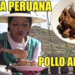 POLLO AL MANÍ | COCINA A LEÑA | RECETAS PERUANAS | CHOLITA JULIA