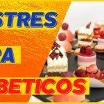 POSTRES SIN AZÚCAR  [3 postres para diabeticos] 🍰🍰🍰  Mi receta de cocina