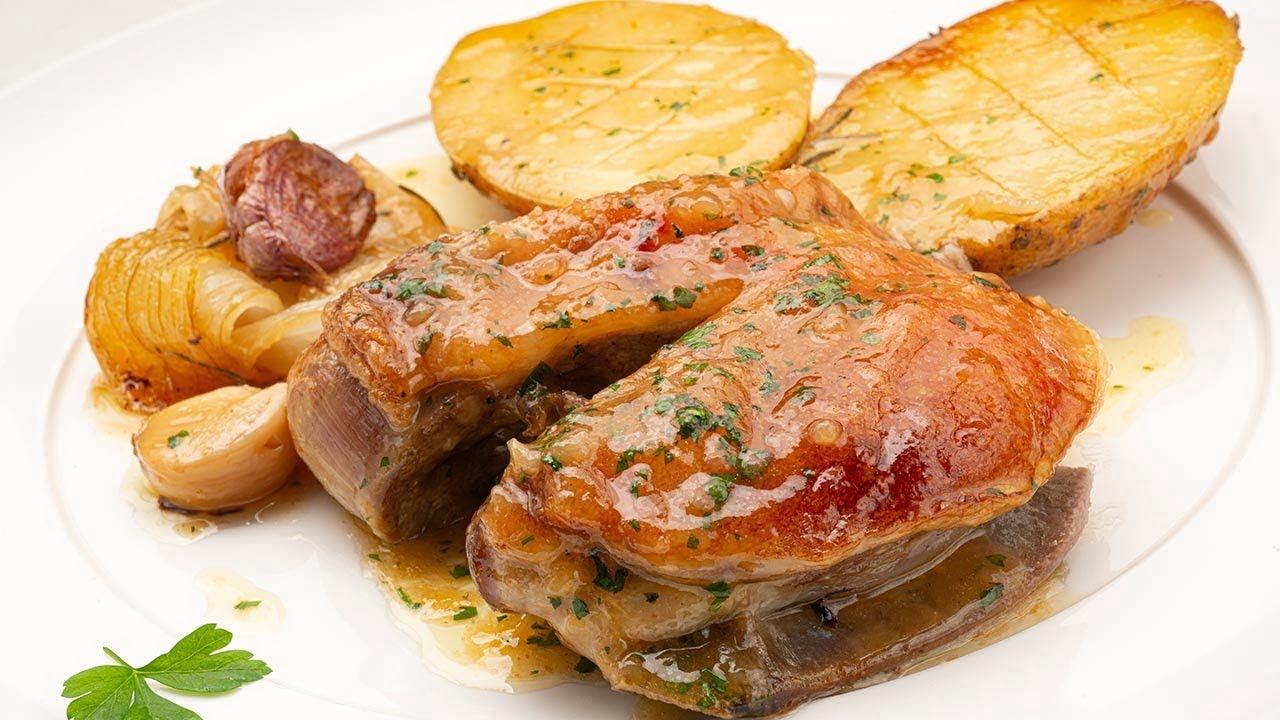 Paletilla de TERNASCO con PATATAS y cebolla - Cocina Abierta de Karlos Arguiñano
