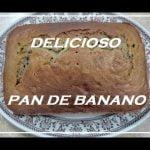 Pan de banano receta fácil y económica  Mi receta de cocina