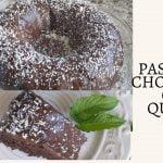 Pastel de Chocolate y Quinoa / Pastel de Chocolate sin Gluten  Mi receta de cocina