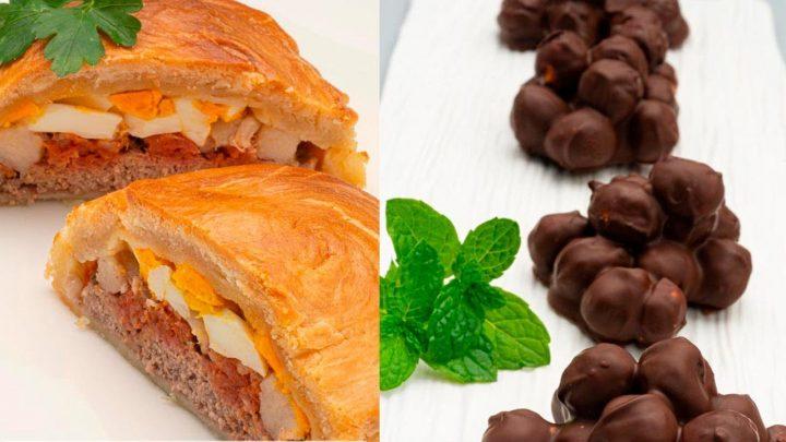 Pastel de carne murciano - Bocado de avellanas y chocolate - Cocina Abierta de Karlos Arguiñano