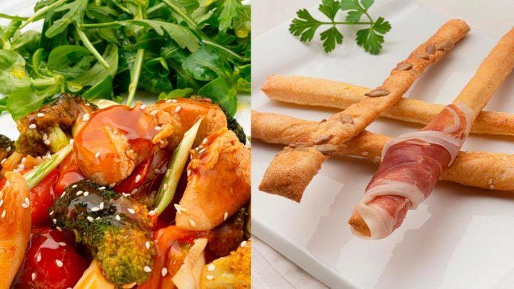 Pollo Teriyaki - Grisines - Cocina Abierta de Karlos Arguiñano