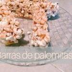 Postre de palomitas *barras de palomitas*  Mi receta de cocina