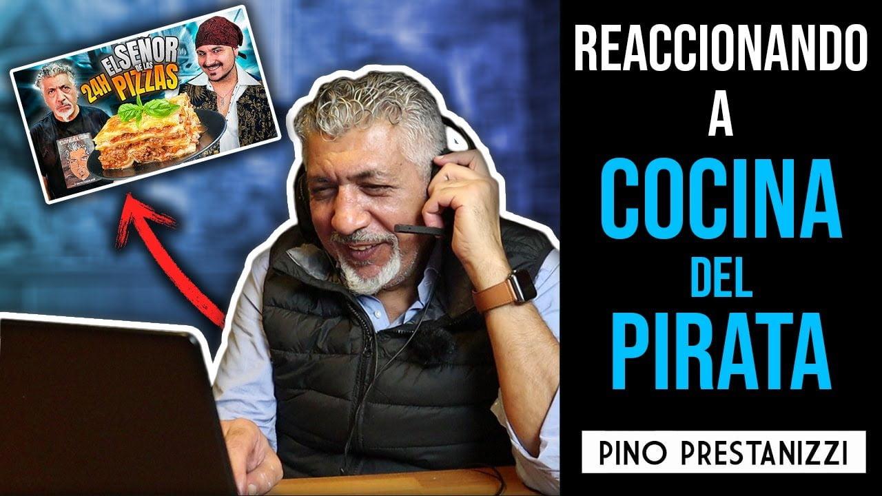 REACCIONANDO a LA COCINA DEL PIRATA COCINANDO MIS RECETAS por 24h | Pino Prestanizzi