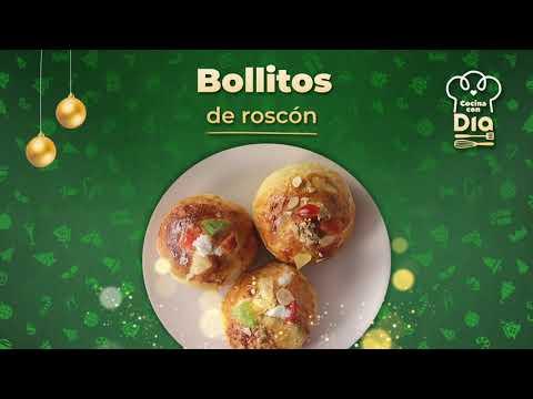 RECETA DE BOLLITOS DE ROSCÓN | COCINA CON DIA