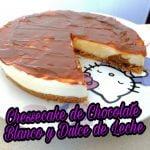 RECETA MAMBO, Chessecake de Chocolate Blanco y Dulce de Leche. Robot de Cocina Mambo de Cecotec.