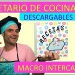 RECETARIO DE COCINA DIY😍LIBRO DE RECETAS😍COMO HACER CUADERNO LIBRETA🔥FACIL ALBUM