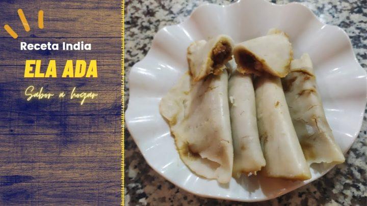 Receta Fácil y Saludable de Manjar de Arroz y Coco  ELA ADA Tradicional de India  La Cocina de Nelsy