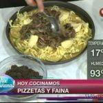 Receta Pizzetas y Fainá Mi receta de cocina