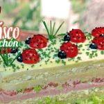 Receta Riquisimo pastel frio o sandwichón de marisco, receta muy fácil. Loli Domínguez