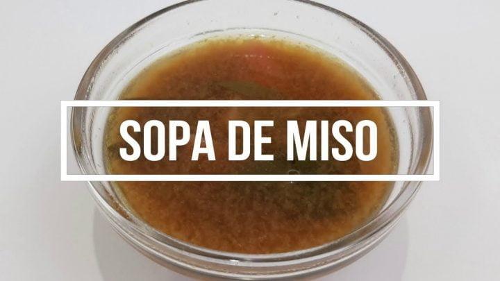 Receta SOPA DE MISO MACROBIÓTICA cocina japonesa Matthias Hespe EspaiCuinarSa wakame shiitake yang