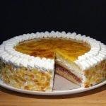 Receta Tarta San Marcos (Sin lactosa) - Recetas de cocina, paso a paso, tutorial  Mi receta de cocina