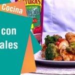 Receta de Secretos de Cocina de Unilever: Pollo con vegetales