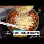 Receta de hoy: bondiola agridulce con arroz y arrolladitos primavera  Mi receta de cocina