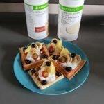 Recetas Gofres - Gofres Belgas | Gofres Caseros | Receta Gofres Belgas | Waffle Recetas Herbalife  Mi receta de cocina