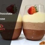 Recetas de San Valentín |  Mousse de chocolate de 3 capas |  Mousse Triple Chocolate |  Trio Mousse  Mi receta de cocina