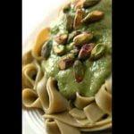 Recetas vegetarianas faciles Pasta con pesto de pistachos  Mi receta de cocina