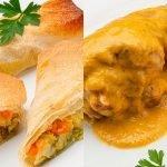 Rollitos de verdura - Muslos de pavo guisados - Cocina Abierta de Karlos Arguiñano