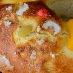 Roscón de reyes casero, receta tradicional. Recetas para Navidad