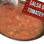 SALSA DE TOMATE SUPER SENCILLA!!! ----cocina saludable