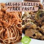 SALSAS VEGANAS PARA PASTA FÁCILES | Cocina relajante | Recetas veganas