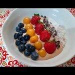 Smoothie bowl de lúcuma - sin gluten, sin azúcar y lo puedes hacer sin lácteos  Mi receta de cocina