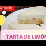 ✅ TARTA DE LIMÓN FRÍA🥧 🍋🏖️➖SIN GLUTEN, SIN LECHE, SIN LACTOSA, SIN HUEVO Y DIABETES ➖  Mi receta de cocina