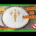 TARTA de SANTIAGO Fácil SIN GLUTEN Y SIN LACTOSA | SANTIAGO Easy CAKE  GLUTEN FREE AND LACTOSE FREE