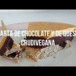 Tarta de Queso y Chocolate CRUDIVEGANA | Sin Gluten, Sin Lácteos, Sin Huevo | Mi Tarta de Cumpleaños  Mi receta de cocina