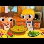 Telmo y Tula - Recetas Cocina - Reloj de frutas