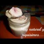 Yogur vegano con frutas. Sin gluten, sin lácteos, sin huevos Mi receta de cocina