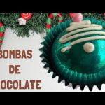 #bombasdechocolate #hotcholatebombs Bombas de Chocolate   Postres navideños fáciles y rápidos