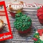 #cupcakesnavideños Cupcakes Navideños| 5 diseños faciles| Decoracion cupcakes navideños