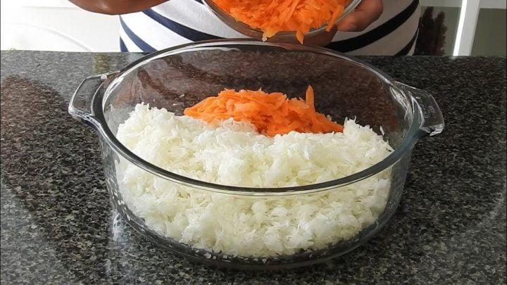 ¡COL (REPOLLO) RALLADA! Prepara esta receta para la comida, le encantará a tu familia