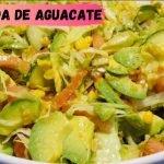 ♥️Receta para la dieta y bajar de peso súper económica Ensalada de aguacate (Salud)