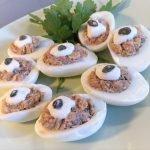 Huevos Rellenos de Atún -- COMIDA para Bajar de Peso/ RECETA Fácil y Económica 2021 £