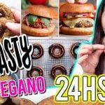 24 HORAS COCINANDO solo RECETAS de TASTY VEGANAS ¿SALDRÁN BIEN? | Steph T #carovstasty  Mi receta de cocina
